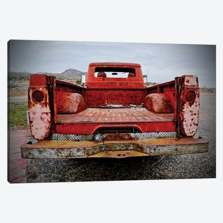 Back End Pickup Canvas Print #SUV245} by Susan Vizvary Canvas Art