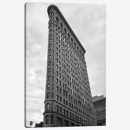 Flat Iron Bldg Canvas Print #SUV246} by Susan Vizvary Canvas Artwork