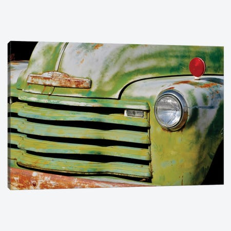 Green Grill Canvas Print #SUV249} by Susan Vizvary Art Print