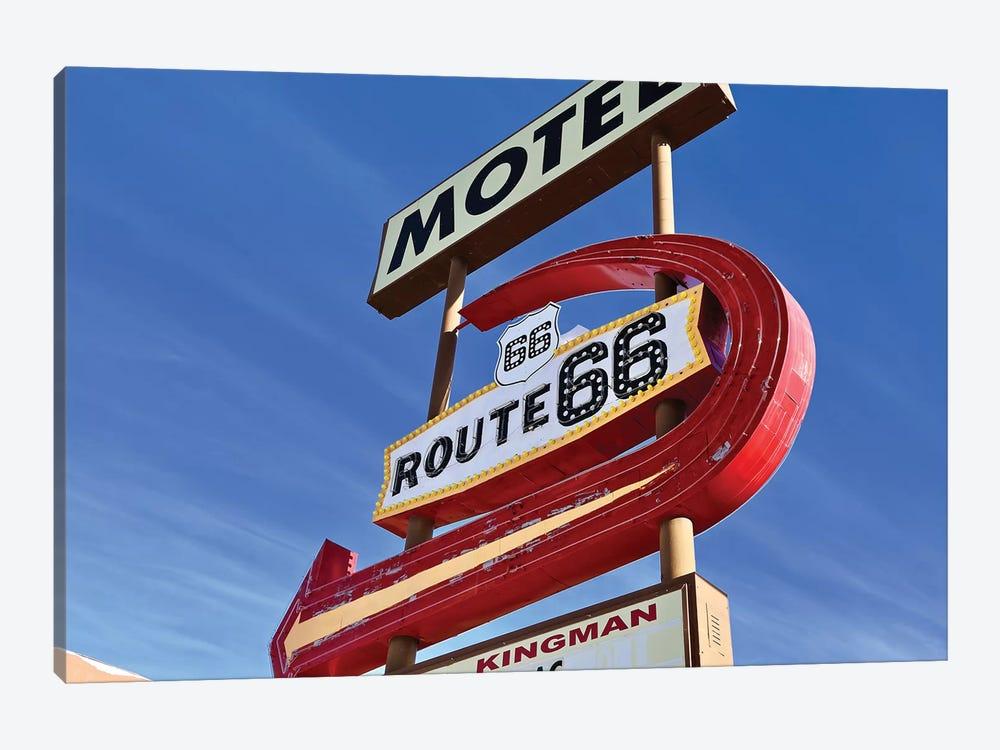 Kingman Motel Route 66 by Susan Vizvary 1-piece Canvas Print