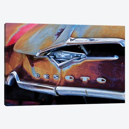 Vintage Desoto 3-Piece Canvas #SUV264} by Susan Vizvary Canvas Artwork