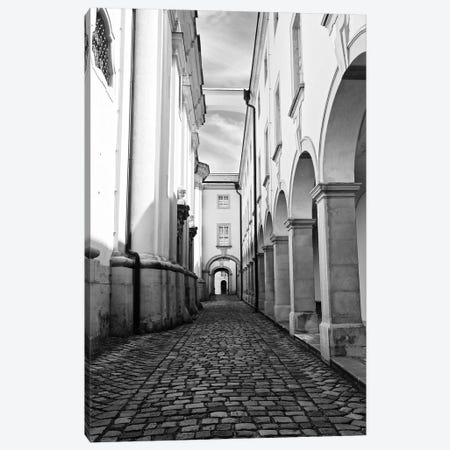 Abbey In Black and White Canvas Print #SUV268} by Susan Vizvary Art Print