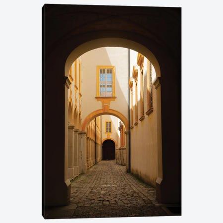 Abbey Hallway Canvas Print #SUV269} by Susan Vizvary Art Print