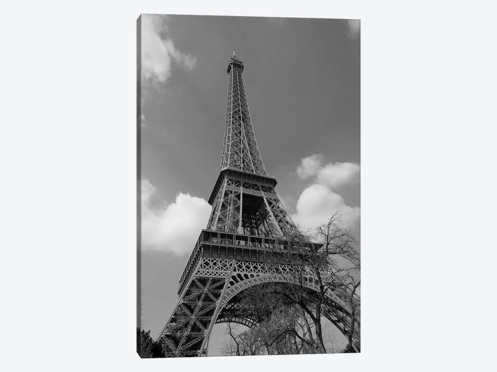 Cloudy Eiffel 1-piece Canvas Wall Art