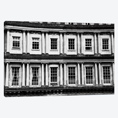 Multiple Windows In Black And White Canvas Print #SUV286} by Susan Vizvary Canvas Artwork