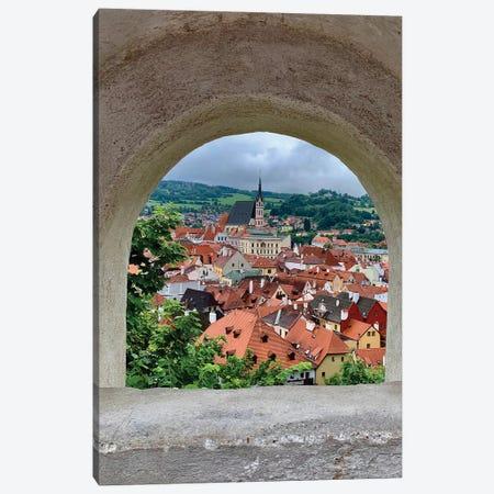 Village Through The Window Canvas Print #SUV295} by Susan Vizvary Canvas Art Print