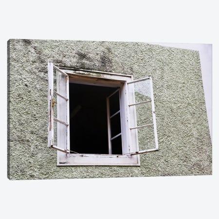 White Open Window Canvas Print #SUV297} by Susan Vizvary Art Print