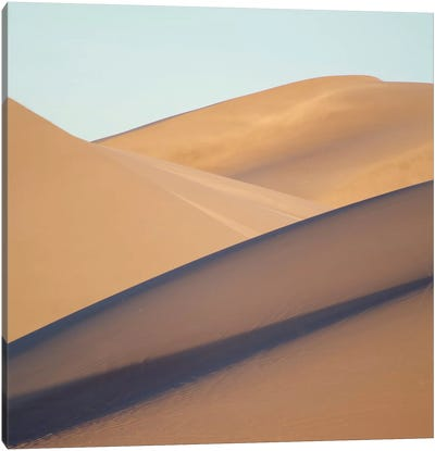 Death Valley Dunes Canvas Art Print