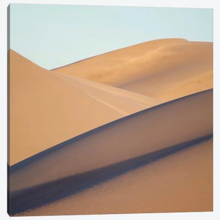 Death Valley Dunes Canvas Print #SUV29} by Susan Vizvary Canvas Wall Art