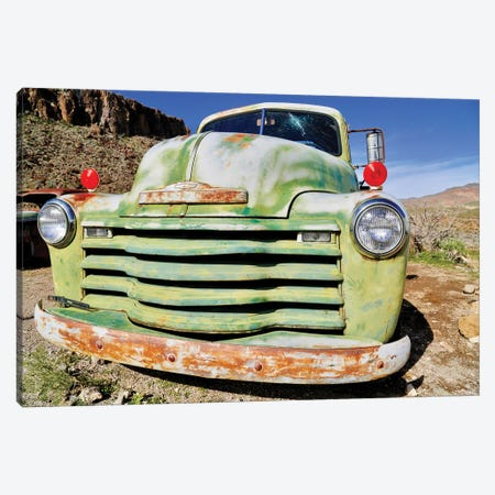 Green Grill Canvas Print #SUV303} by Susan Vizvary Canvas Art