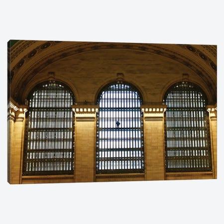 Alone At Grand Central Canvas Print #SUV306} by Susan Vizvary Art Print
