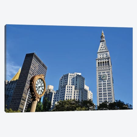New York Time Canvas Print #SUV315} by Susan Vizvary Canvas Artwork