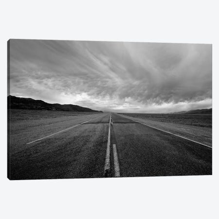 A Long Dark Road Canvas Print #SUV331} by Susan Vizvary Canvas Print