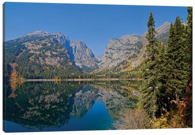 Phelps Lake Reflection Canvas Art Print
