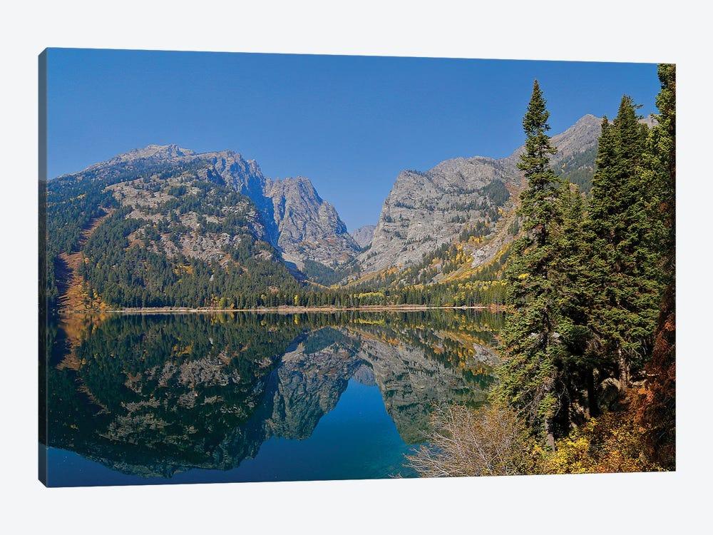 Phelps Lake Reflection by Susan Vizvary 1-piece Canvas Wall Art