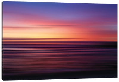 Punta Mita Blur Canvas Art Print