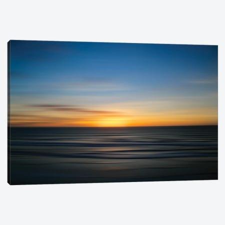 Solano Beach Blur Canvas Print #SUV387} by Susan Vizvary Canvas Art Print