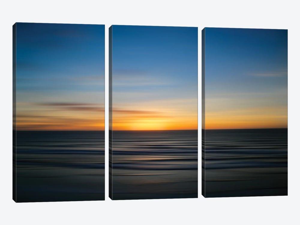 Solano Beach Blur by Susan Vizvary 3-piece Art Print