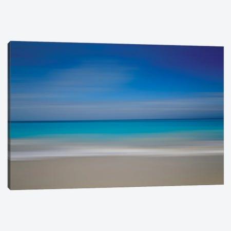 Turks Beach Blur Canvas Print #SUV388} by Susan Vizvary Canvas Art