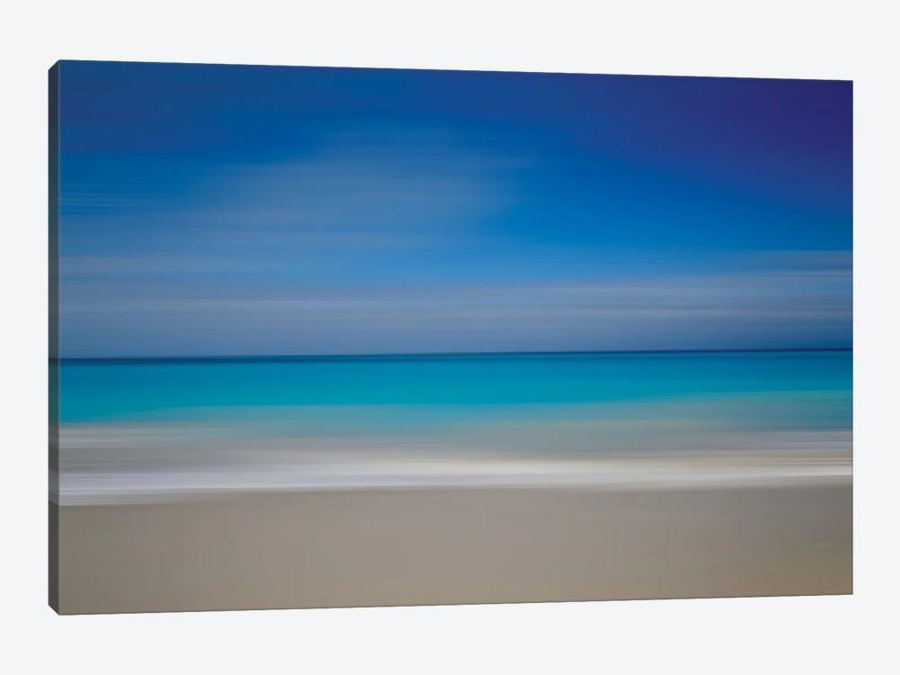 Turks Beach Blur by Susan Vizvary 1-piece Canvas Art