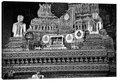 Golden Temple Of Thailand Canvas Art Print