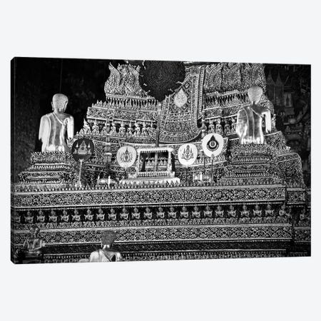Golden Temple Of Thailand 3-Piece Canvas #SUV38} by Susan Vizvary Canvas Print