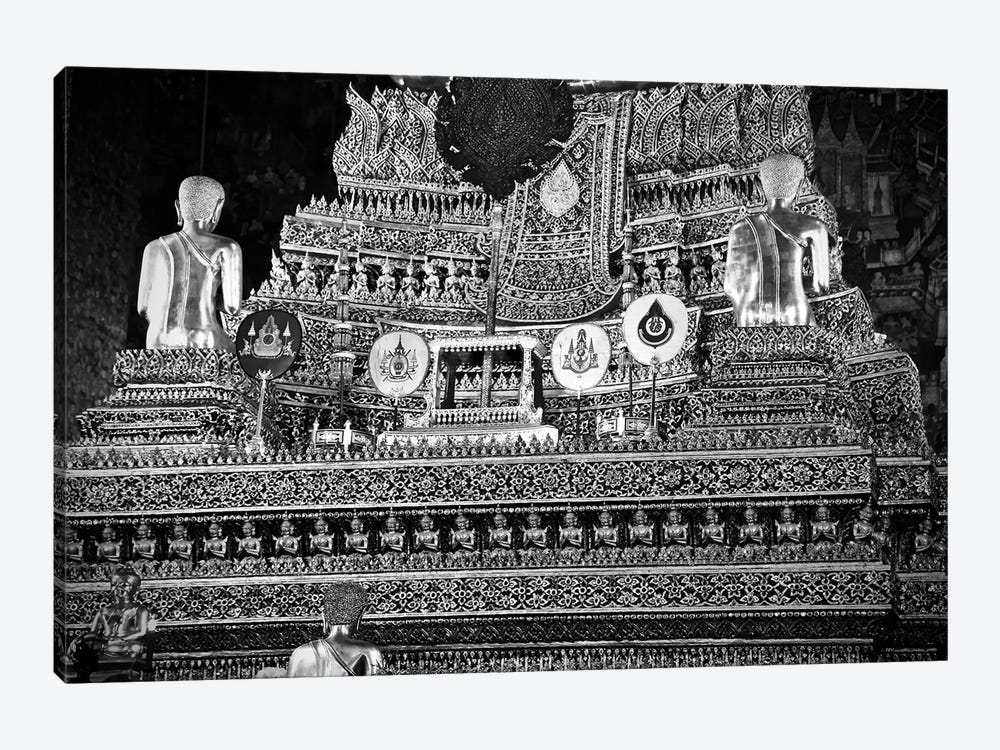 Golden Temple Of Thailand by Susan Vizvary 1-piece Canvas Wall Art