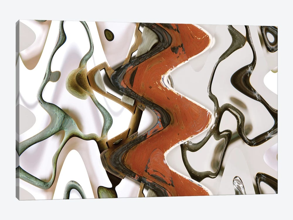 Handles, Abstract by Susan Vizvary 1-piece Canvas Print