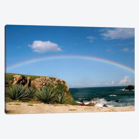 Hawiian Rainbow Canvas Print #SUV41} by Susan Vizvary Canvas Artwork