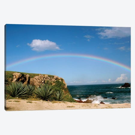 Hawiian Rainbow Canvas Print #SUV41} by Susan Vizvary Canvas Artwork