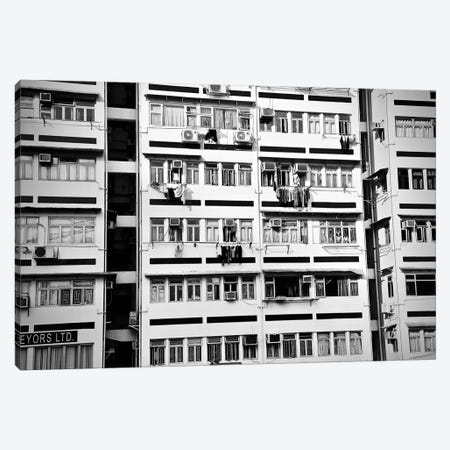 Hong Kong Apartment Canvas Print #SUV42} by Susan Vizvary Canvas Wall Art