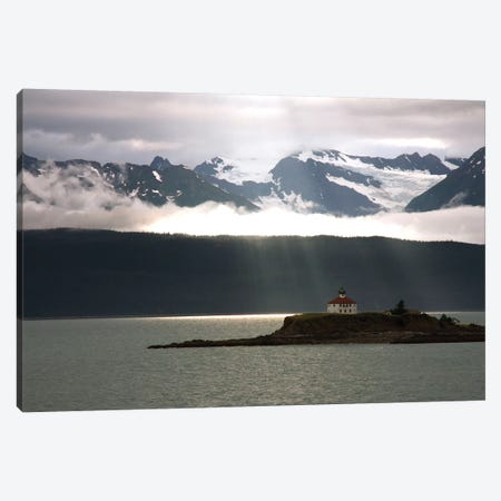 Alaskan Boathouse Canvas Print #SUV4} by Susan Vizvary Canvas Print