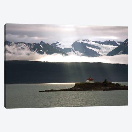 Alaskan Boathouse Canvas Print #SUV4} by Susan Vizvary Canvas Print