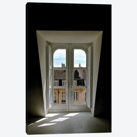 Looking Out To Paris Canvas Print #SUV56} by Susan Vizvary Canvas Art