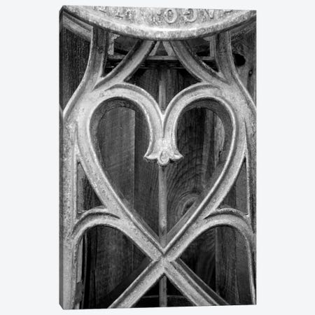 Metal Heart Canvas Print #SUV60} by Susan Vizvary Canvas Art