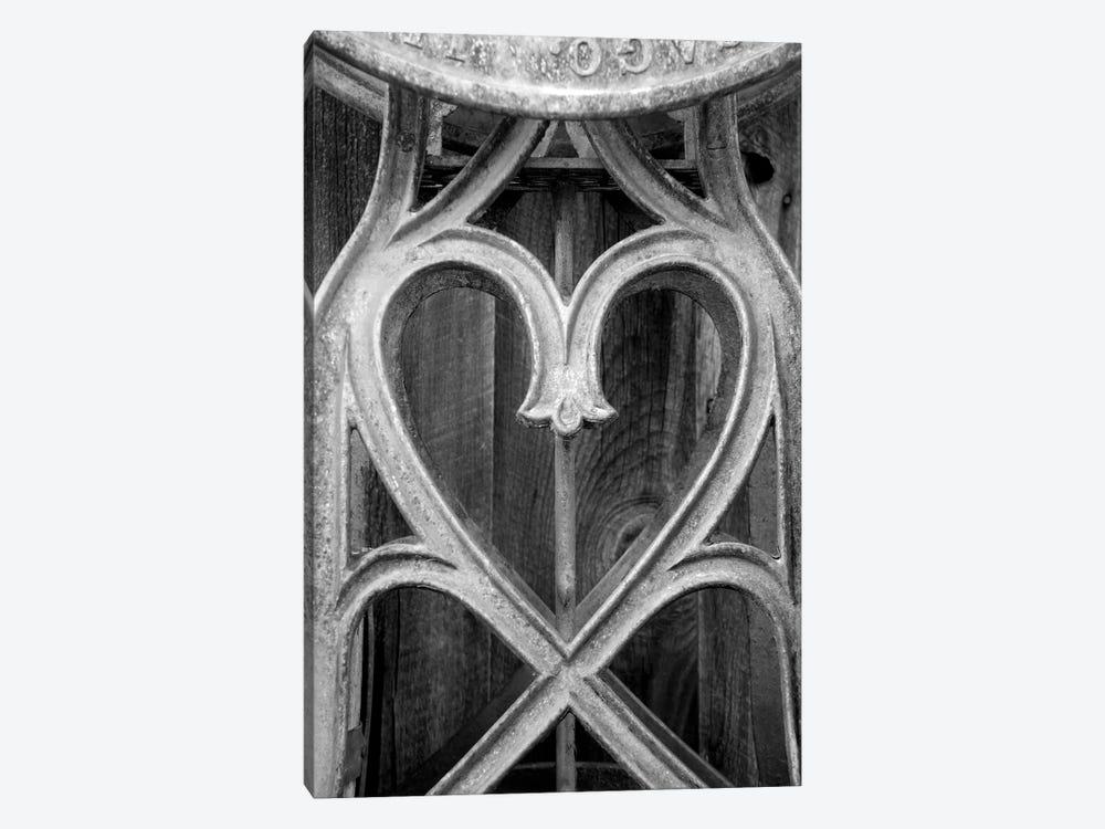 Metal Heart by Susan Vizvary 1-piece Art Print