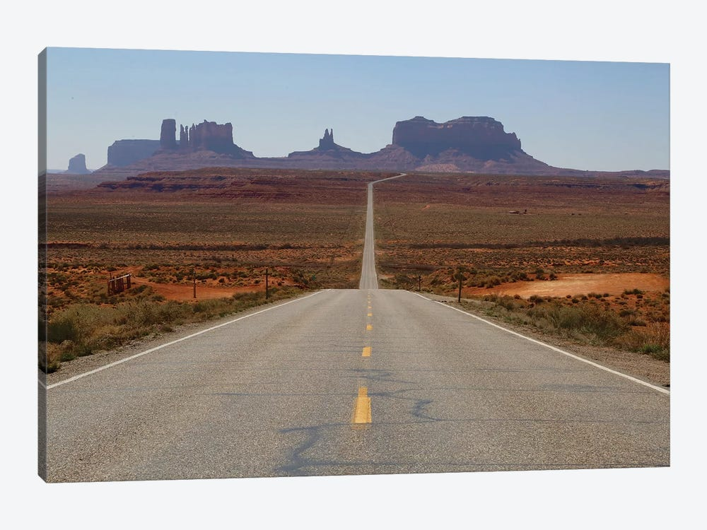 Road To Monument Valley by Susan Vizvary 1-piece Art Print
