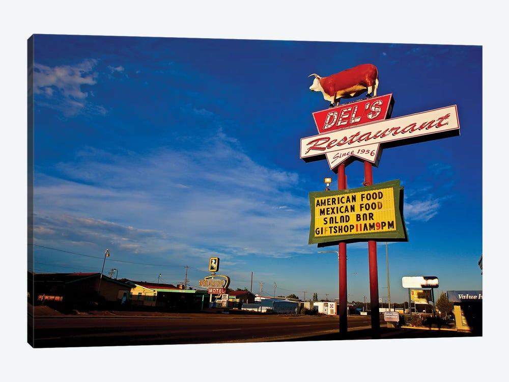 Route 66 Restaurant by Susan Vizvary 1-piece Canvas Artwork