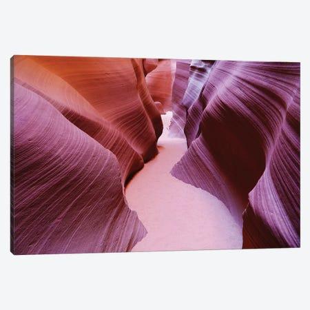 Slot Canyon Curves Canvas Print #SUV88} by Susan Vizvary Canvas Wall Art