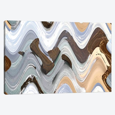 Apostile, Wavy IV Canvas Print #SUV8} by Susan Vizvary Canvas Art