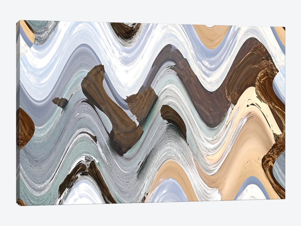 Apostile, Wavy IV by Susan Vizvary 1-piece Canvas Artwork