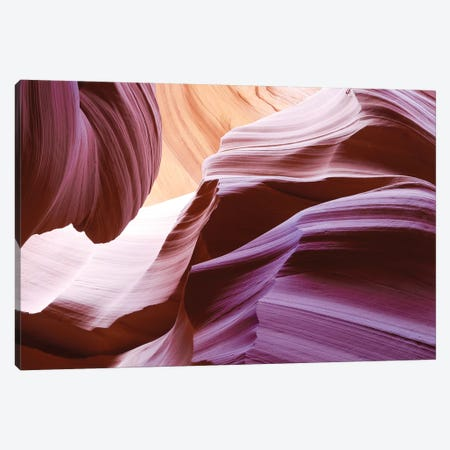 Slot Canyons Face 3-Piece Canvas #SUV92} by Susan Vizvary Canvas Print