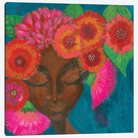 Luminous Blooms Canvas Print #SUY114} by Sunny Altman Canvas Wall Art