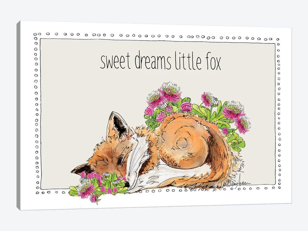 Sweet Dreams Little Fox by Suzanne Anderson 1-piece Canvas Art