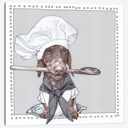 Chef Schmitt Canvas Print #SUZ17} by Suzanne Anderson Canvas Artwork