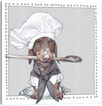 Chef Schmitt Canvas Art Print