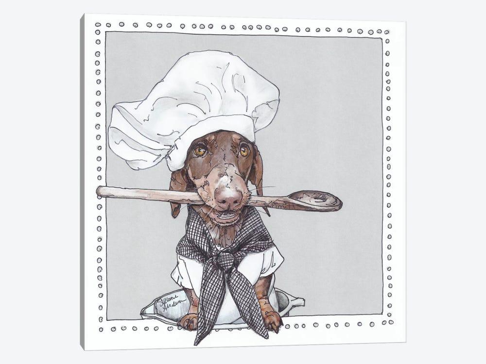 Chef Schmitt by Suzanne Anderson 1-piece Art Print