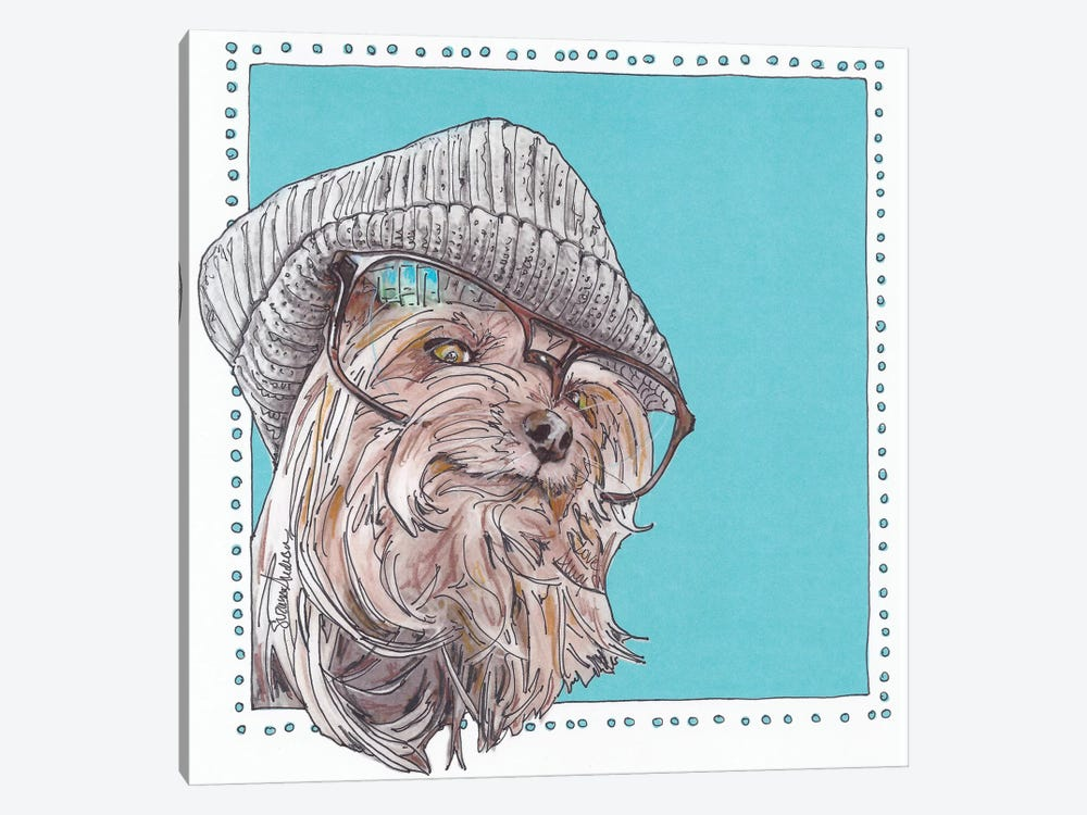 Willie Hipster by Suzanne Anderson 1-piece Canvas Wall Art