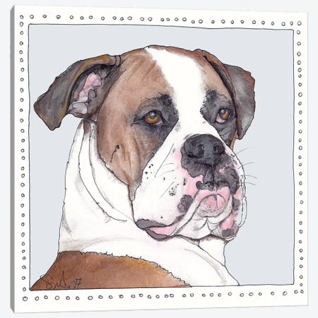 Archie Canvas Print #SUZ50} by Suzanne Anderson Art Print