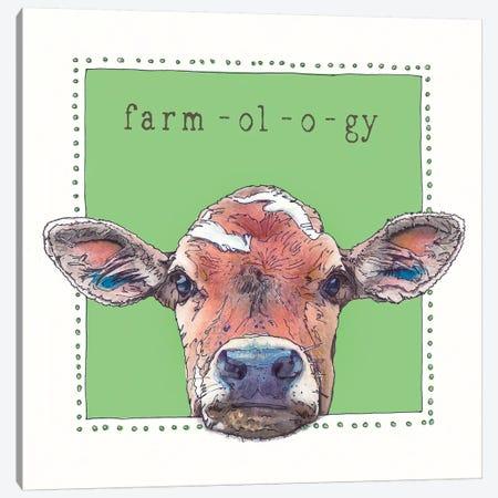 Chipper Farmology Canvas Print #SUZ55} by Suzanne Anderson Canvas Art